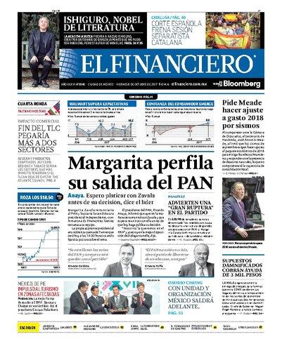Portada: El Financiero